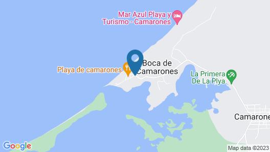 Hostal Castillo Del Mar Map