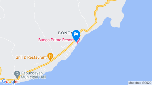 Bunga Prime Resort Map