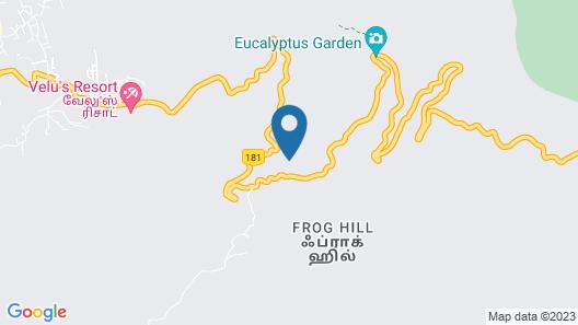 The Xanadu Frog Hill Map