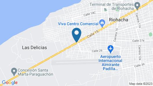 Hotel Wos Casa Grande Map