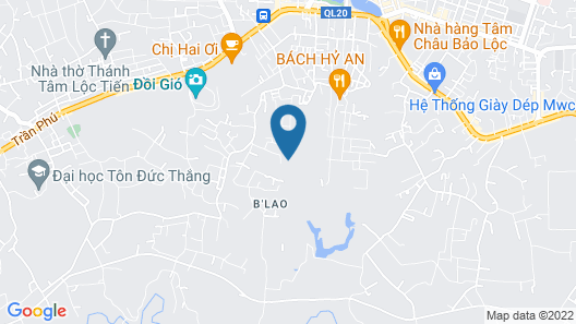 Bao Loc Homestay Map