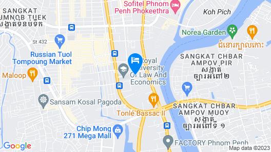 Somerset Norodom Phnom Penh Map