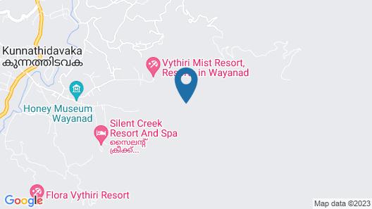 Vythiri Wild Forest Resort Map