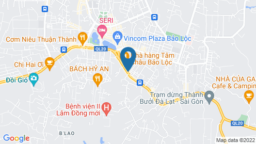 Tam Chau Luxury Hotel Map