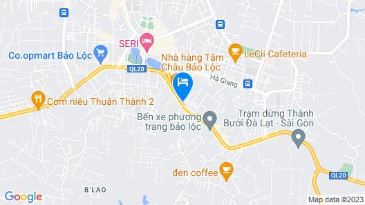 Tam Chau Luxury Hotel Map