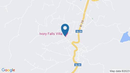 Ivory Falls Villa Map
