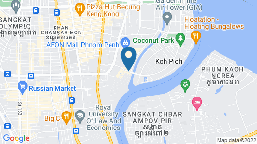 Anik Boutique Hotel Map