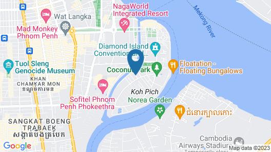 CA&SA Service Apartment Map