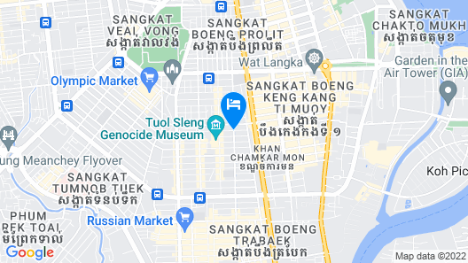 Relax Hotel Map