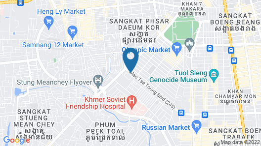 The Great Duke Phnom Penh Map