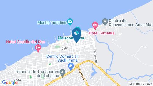 Caribbean Hostel Map