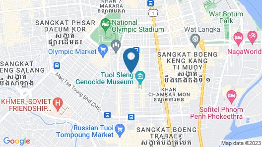 Le Mont Hotel Map