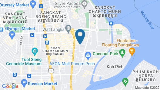 Diamond Palace Resort & Sky Bar Map