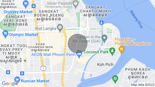Condo in front of AEON Mall Phnom Penh Map