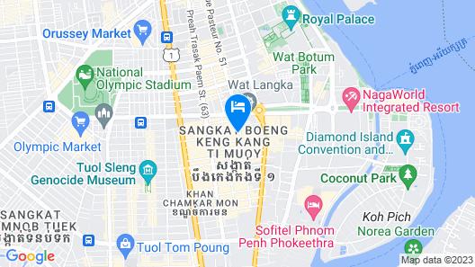 Feliz Urban Hotel Map