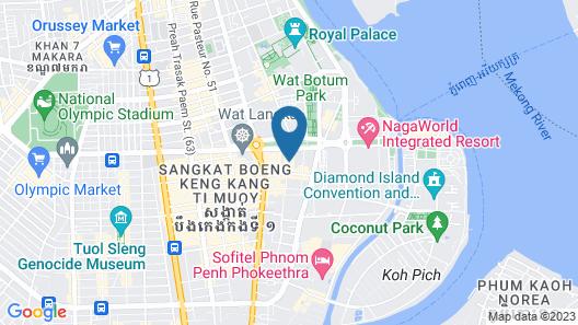 Sovanna Hotel Map