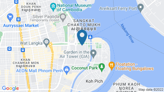 NagaWorld Hotel & Entertainment Complex Map