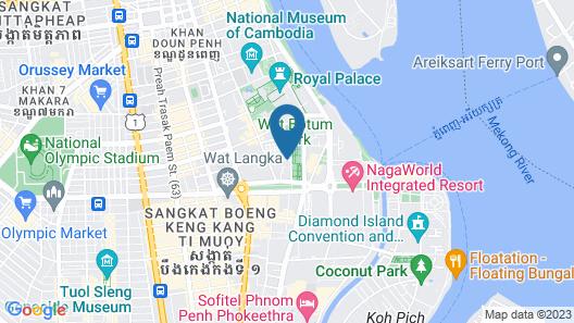 Palace Gate Hotel & Residence Map