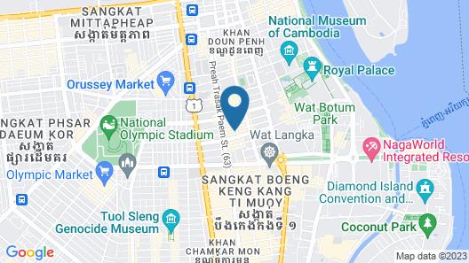 Lyve Inc Hotel Map