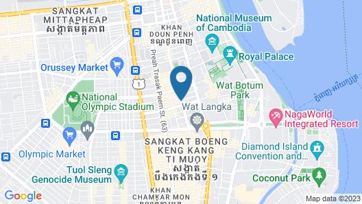 Arunreas Hotel Map
