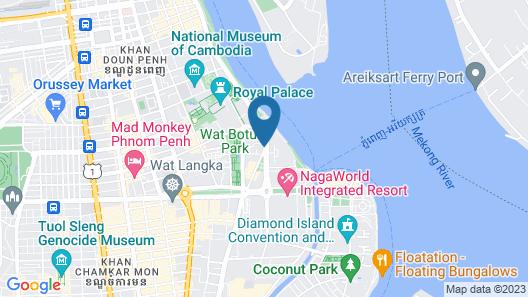 Hotel Emion Phnom Penh Map