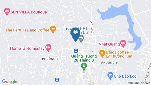 Friendly Homestay Bao Loc Map
