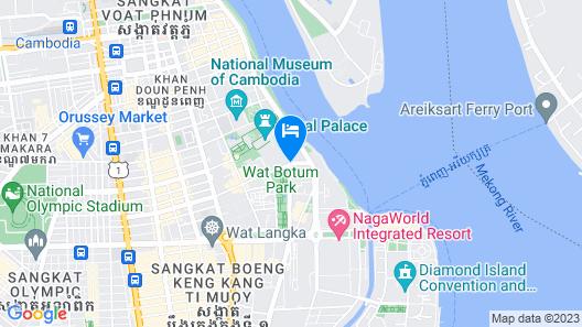 Palace Gate Hotel & Resort Map