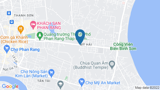 Thanh Cao Hotel Map