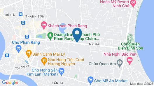 Hoang Dung Hotel Map