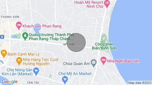 Your Home Phan Rang - Sea View Aparment Map