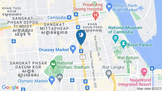 New York Hotel Map