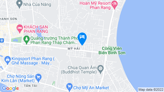 An Nhien Hotel Apartment - Phu Thinh Plaza Map