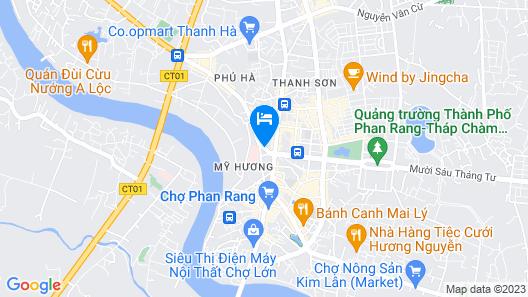 Ninh Thuan Hotel Map