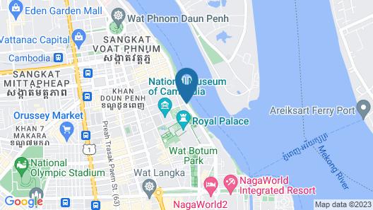 FCC Phnom Penh Boutique Hotel Map