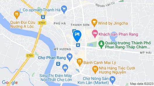 Hai Van Luxury Hotel Map