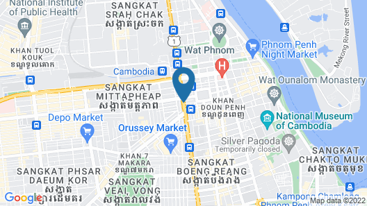 Asia Hotel Map