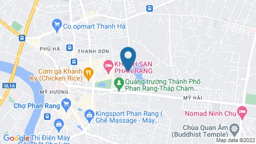 Anh Dong Hotel Map