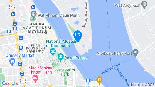 Sokha Phnom Penh Hotel Map
