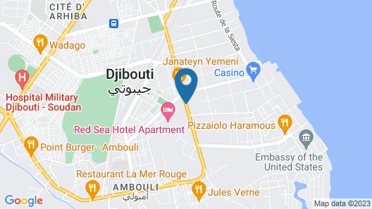African Village Hotel Map