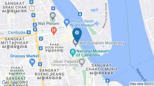 The Quay Boutique Hotel Map