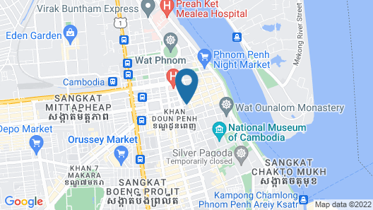 Vacation Boutique Hotel Map