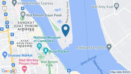 Sokha Phnom Penh Residence Map