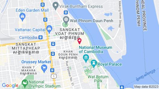 SUN & MOON, Urban Hotel Map