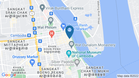 Lux Riverside Hotel & Apartment Map