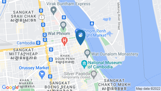 Monsoon Boutique Hotel Map