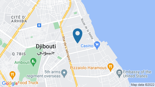 Oceania Appart-Hôtel Map