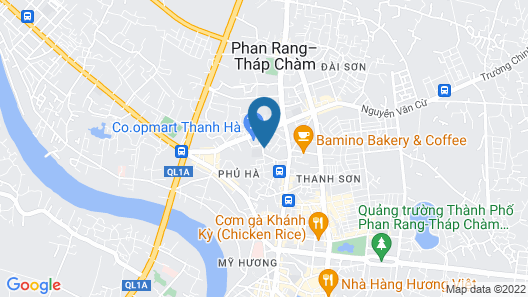 Hotel Thu Thao Map
