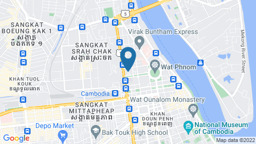 Raffles Hotel Le Royal Map