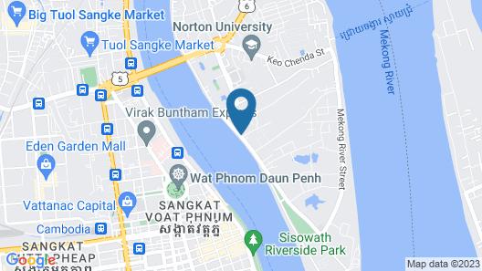 Bellevue Serviced Apartments Map