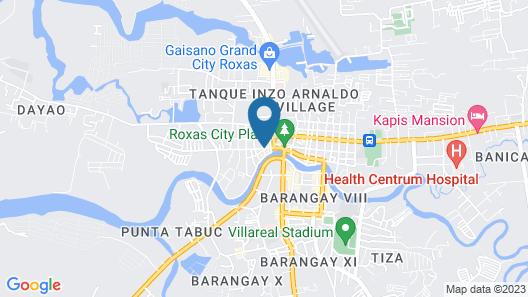 Roxas President's Inn Map